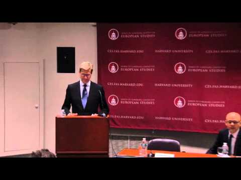 Germany's and Europe's Role in a Changing World -Dr. Guido Westerwelle