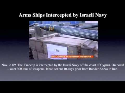 Arms Ships Intercepted by Israeli Navy