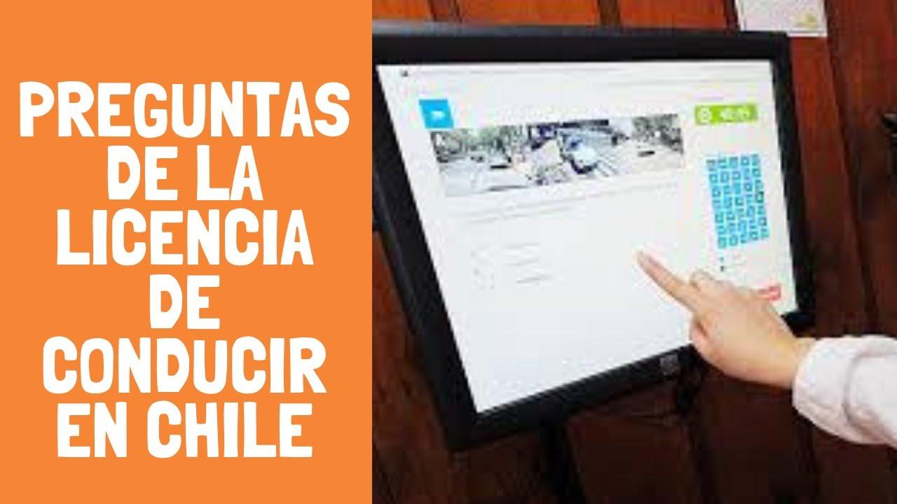 Licencia Clase C Chile Los Mejores Examenes Teoricos Youtube
