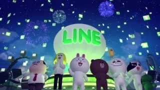 LINE: ユーザー3億人突破記念 〜LINEキャラクタースペシャル映像〜