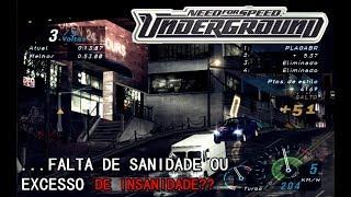 NEED FOR SPEED UNDERGROUND 1 - ARRISCANDO A VIDA NO TRÁFEGO!! #06