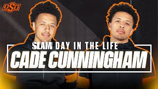 Cade Cunningham is the ONLY HS Hooper on that Vegan Lifestyle | SLAM Day in the Life