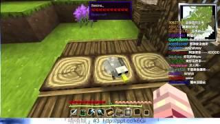 阿謙的Twitch 2014/7/26『MineCraft』Attack of the B-Team【1/8】阿神 彌奈 XL