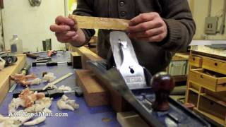 Woodworking Hand Plane Demo • Complete Sharpening Series Video 39