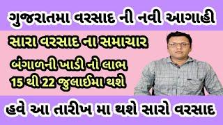 વરસાદ માટે એક નવી આગાહી પરેશ ગોસ્વામી = Varsad Mate Ek Navi Aagahi Paresh Goswami Weather Tv