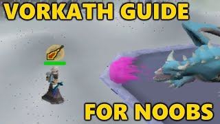 Easy VORKATH Guide F๐r FIRST TIMERS