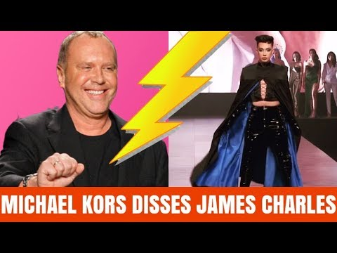 JAMES CHARLES DISSED BY MICHAEL KORS thumbnail