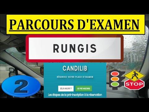 Examen Blanc du Permis de conduire centre d''examen RUNGIS 94