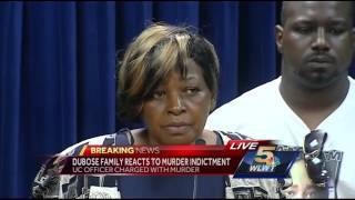 Dubose family reacts after indictment of UC Police Officer Ray Tensing