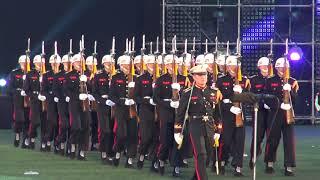 육해공군해병대 및 미8군 군악대 의장대 입장, 2017 진해군악의장페스티벌
