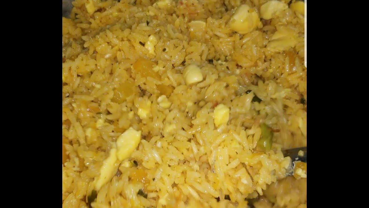 jamaican seasoned rice with ackee  youtube