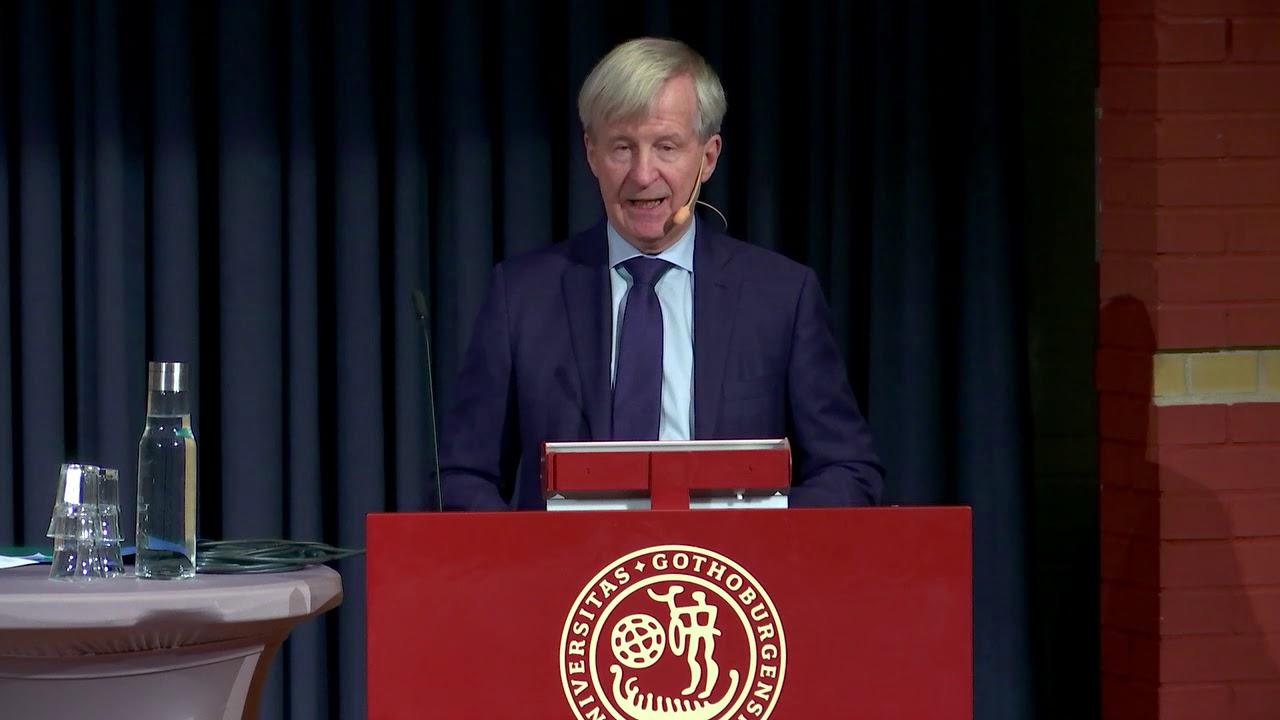 Seminar with Sahlgrenska Academy's new honorary doctors