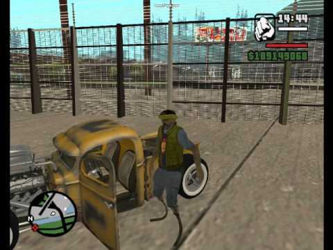 Mafia II Sounds In GTA San Andreas (part 3)