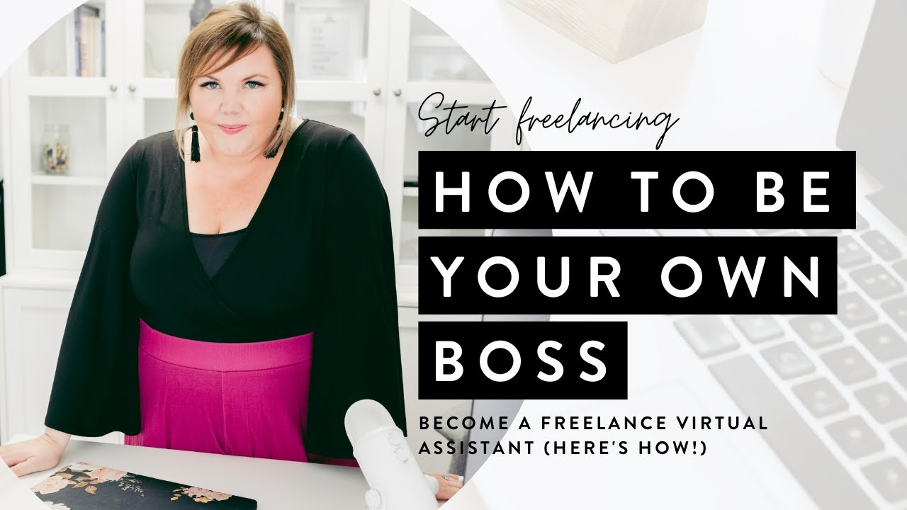 Become a Freelance Virtual Assistant (Here's How!)