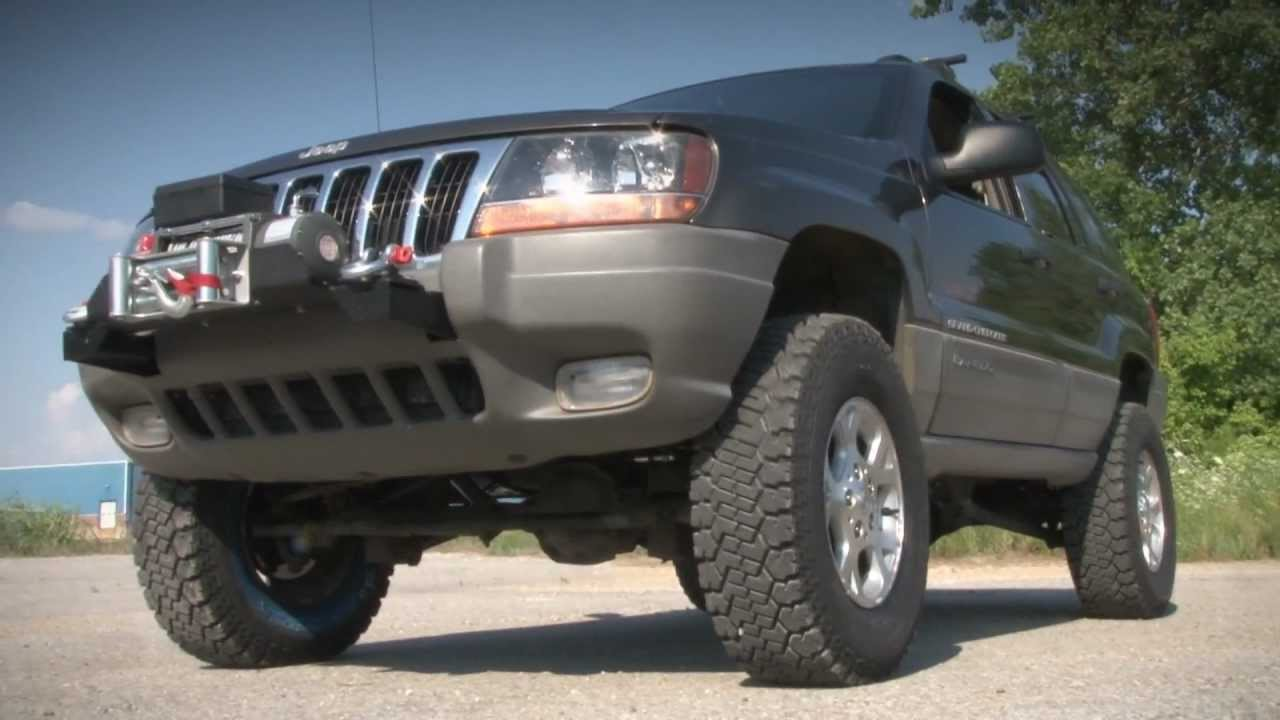 "Rough Country's Jeep Grand Cherokee WJ 4"" Long Arm System ..."