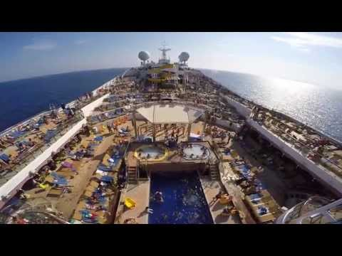 GoPro Costa Magica Cruise 2015 - Marsellie, Tangir, Casablanca, Arrecife, Tenerife, Funchal, Malaga