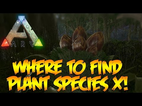 ARK Survival Evolved: How to Find Plant Species X Seed The Center Map!