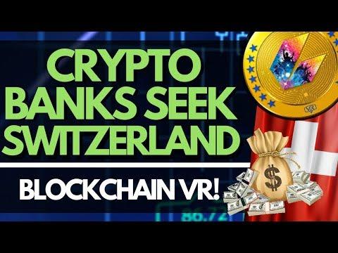 Switzerland Haven For Crypto Banks, Blockchain Powered VR, Kazakhstan Crypto Ban | Altcoin News