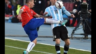 Argentina vs Chile Copa America 2015 Final (Penalty & match highlights)
