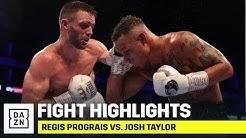 HIGHLIGHTS | Regis Prograis vs. Josh Taylor