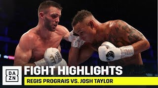 HIGHLIGHTS | Regis Prograis vs. Josh Taylor
