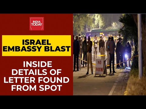 Israel Embassy Blast: Inside Details Of Letter Found From Spot; Mossad Keeping Close Eye On Events