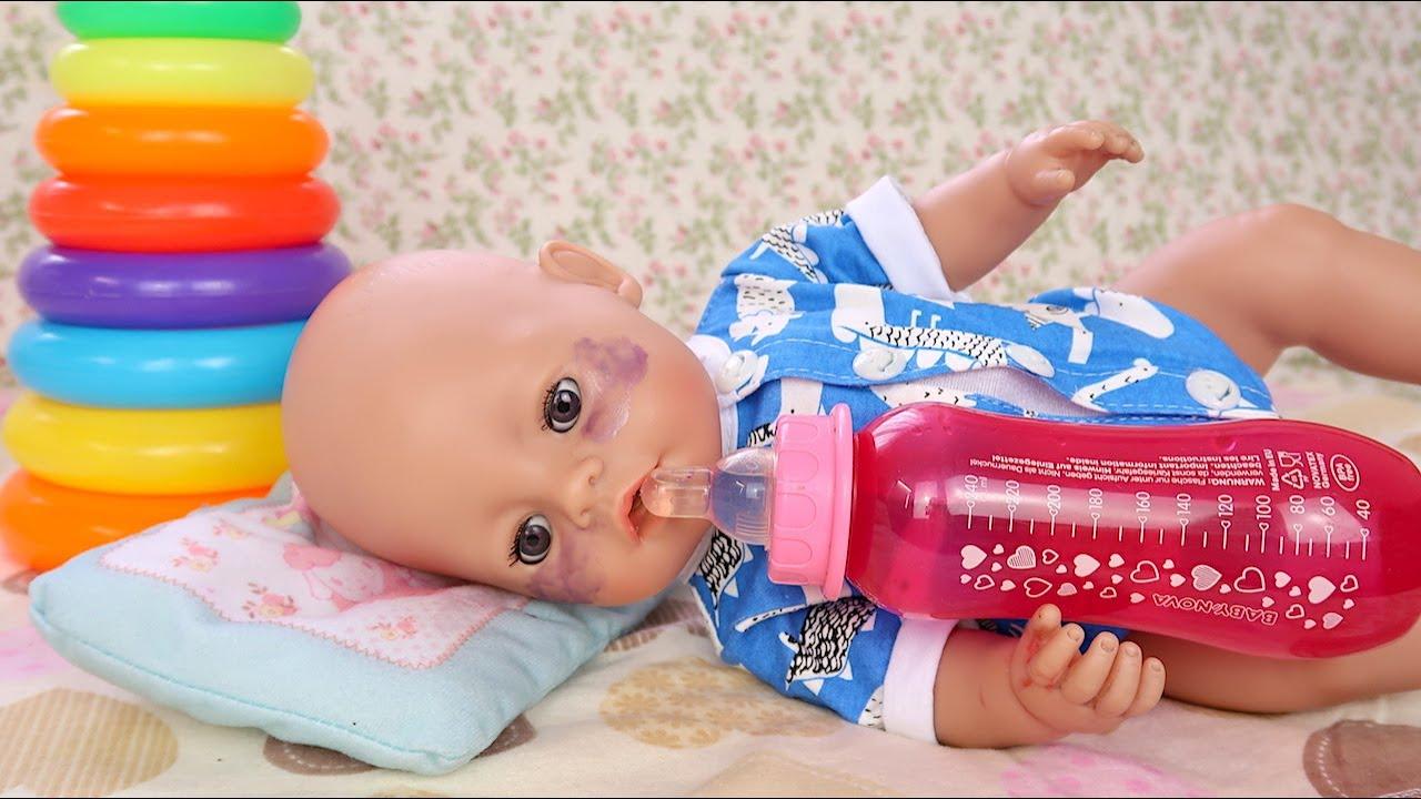 Почему Миша Ночью Не Спит? Мультики Как Мама Играет в Куклы Беби Бон  108мама тв