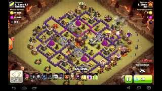 CLASH OF CLANS AZERBAYCAN (AZE 45 AND ARM 43 ) QELEBE