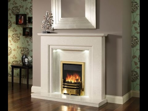 Astounding Marble For Fireplace Surround Design Ideas - YouTube