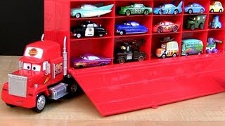 Disney Cars Mack Truck Hauler Carry Case Store 30 Diecasts Woody Buzz Toy Story  ディズニーカーズ マック