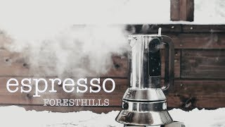 How to Enjoy Cafe Espresso at Snow Hiking  with ALESSI & STARBUCKS