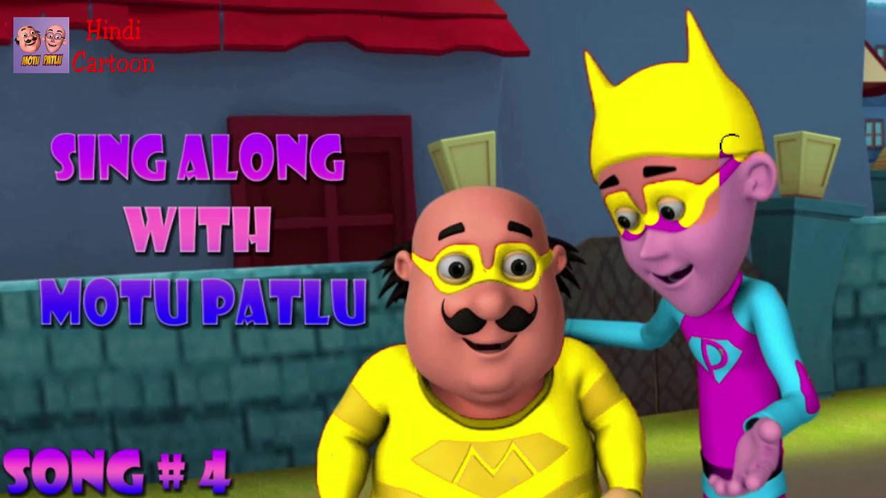 Motu VS John and The Hen Motu Patlu Coloring in Hindi - 3D Animation Cartoon Coloring Pages