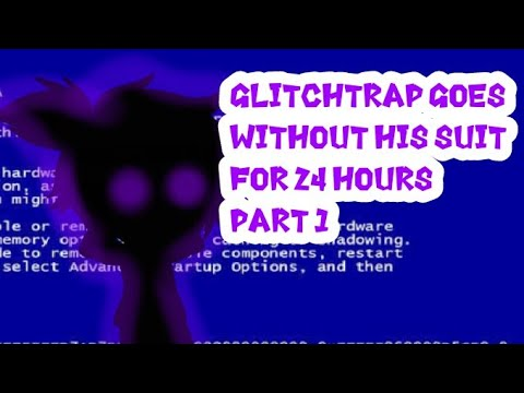 Download Glitchtrap goes without his suit for 24 hours // gacha club   afton family / (part 1/?)