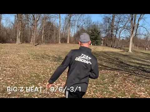 Discraft Comparison - Big Z Heat vs Z Zombee