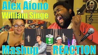 Alex Aiono AND William Singe Mashup REACTION!!!