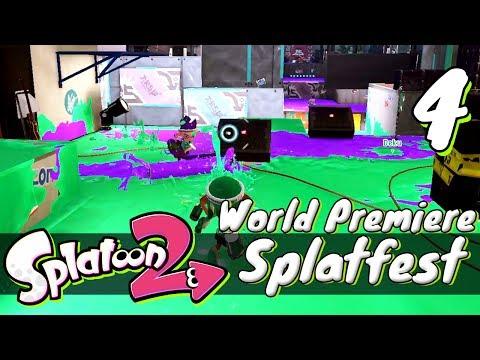 [4] Splatoon 2 Splatfest World Premiere w/ GaLm and Tom