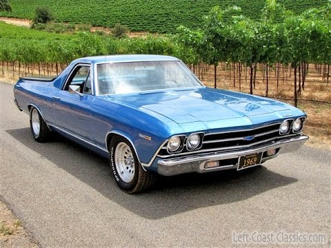 1969 chevrolet el camino for sale engine rev sound youtube. Black Bedroom Furniture Sets. Home Design Ideas