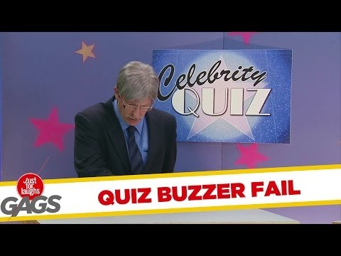 Celebrity Quiz Buzzer Fail Prank