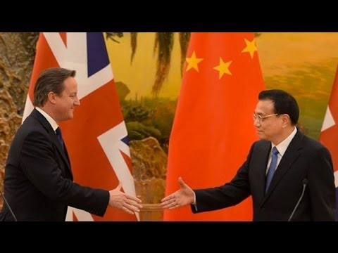 David Cameron in China for biggest ever trade talks