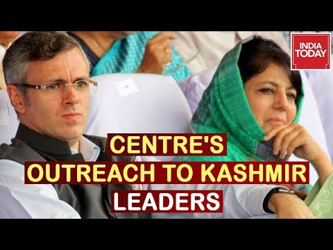 Centre's Special Delegation Meets Omar Abdullah & Mehbooba Mufti