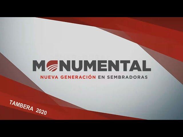 Sembradoras Monumental, video tecnico todos los modelos y configuraciones
