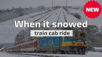 Cab Ride Bulgaria 🛤️ When it snowed ☃️ Sofia ➡️ Stolnik (ft. 46 211)
