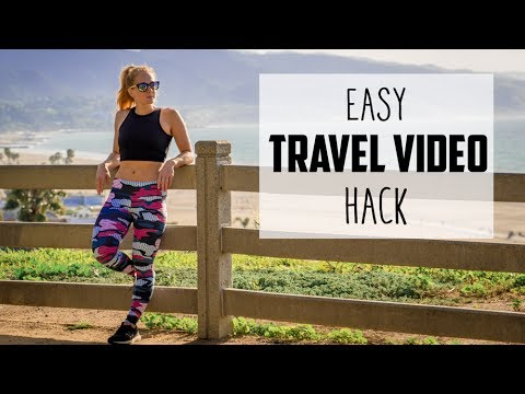 1 Hack To Make BETTER TRAVEL VIDEOS with 5 Tips