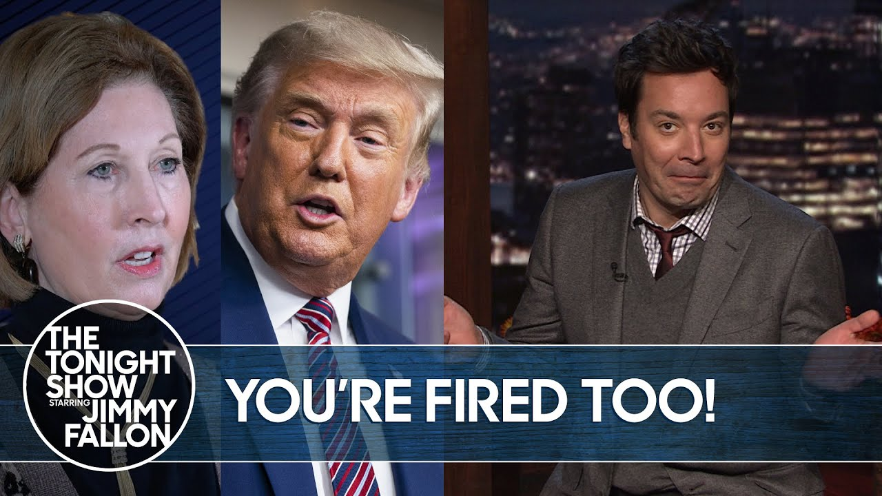 Download Trump Fires His Lawyer for Wild Conspiracy Theory Claims | The Tonight Show
