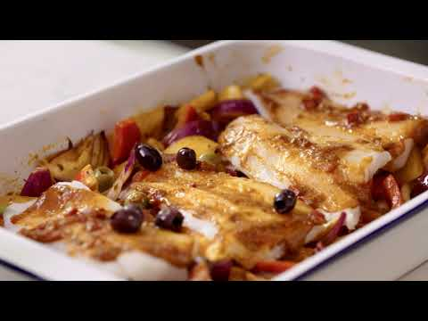 M&S   Cook With... Moroccan Baked Cod