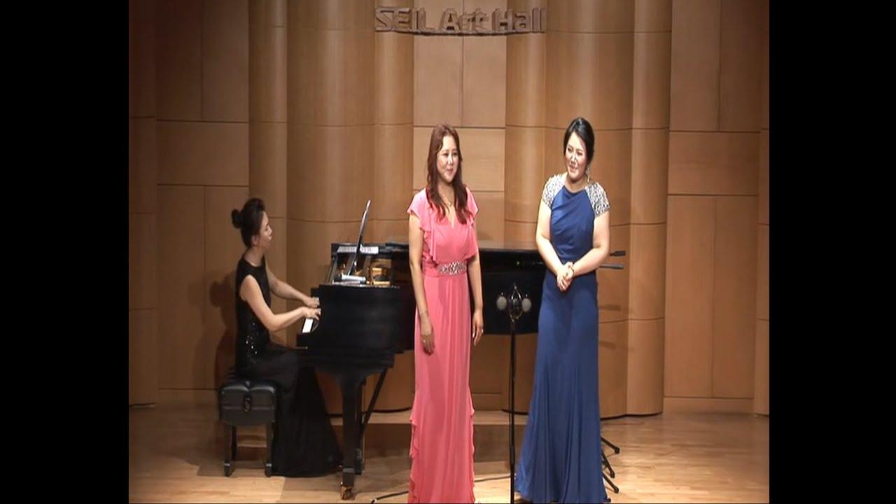 2018년 세일 한국가곡 상설무대 07월 소프라노 서선영 소프라노 홍주영
