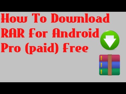 How To Download RAR For Android Pro (paid) Free