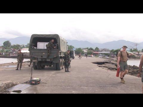 Philippine and U.S. Navy demolition exercise @ Balikatan 2017