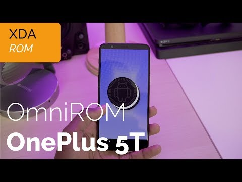 OmniROM (Oreo, Android 8.1) on the OnePlus 5T