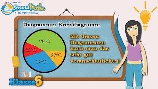 Kreisdiagramme || Klasse 6 ★ Wissen